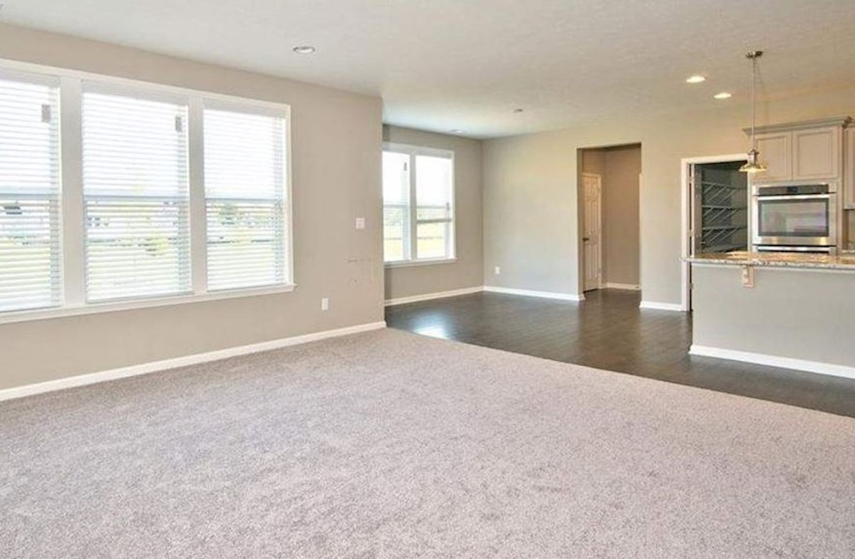 Whitley quick move-in Open layout makes entertaining a breeze