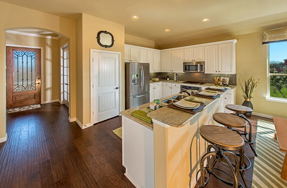 The Grove at Craig Ranch Silverado Silverado kitchen with large island