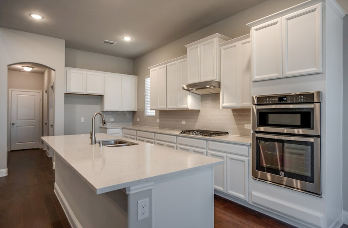 Summerfield quick move-in Summerfield ktichen with white cabinets
