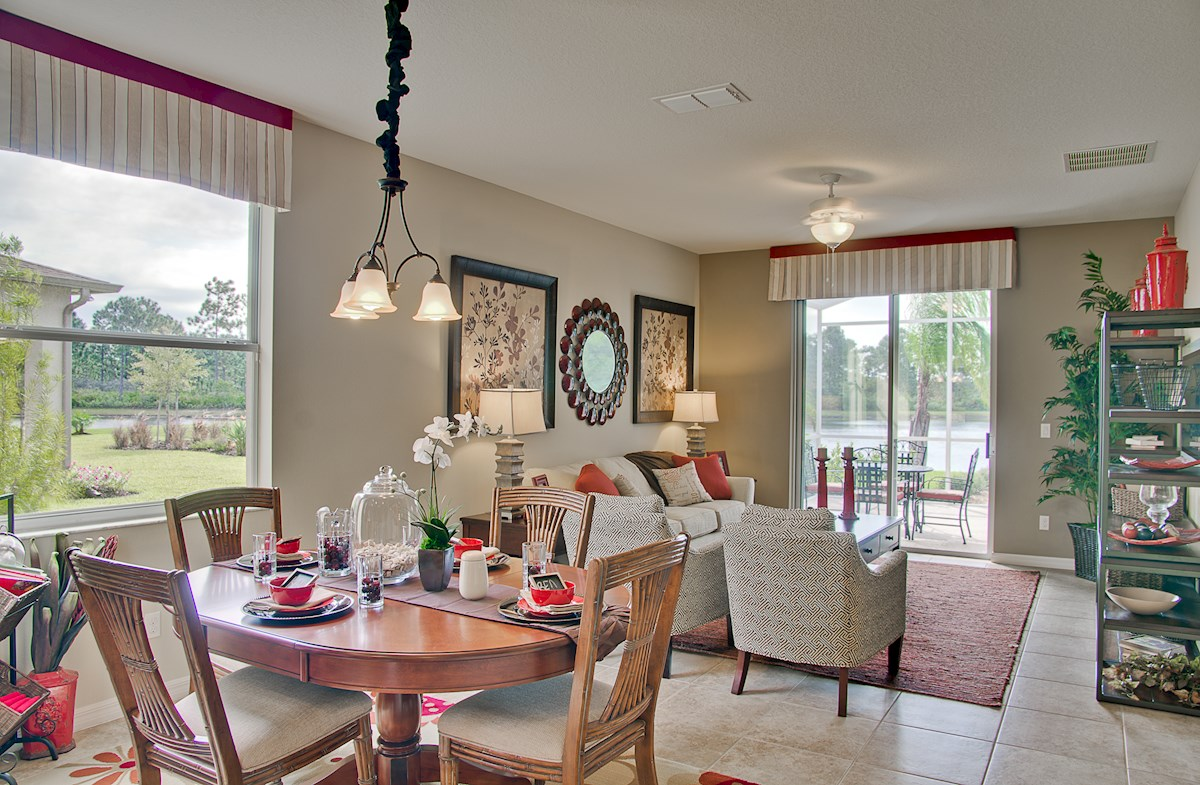 Reserve at Sawgrass St Augustine II light-filled great room