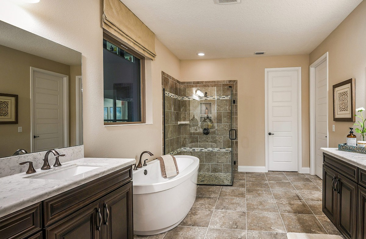 Belle Vie Washington luxurious master bath