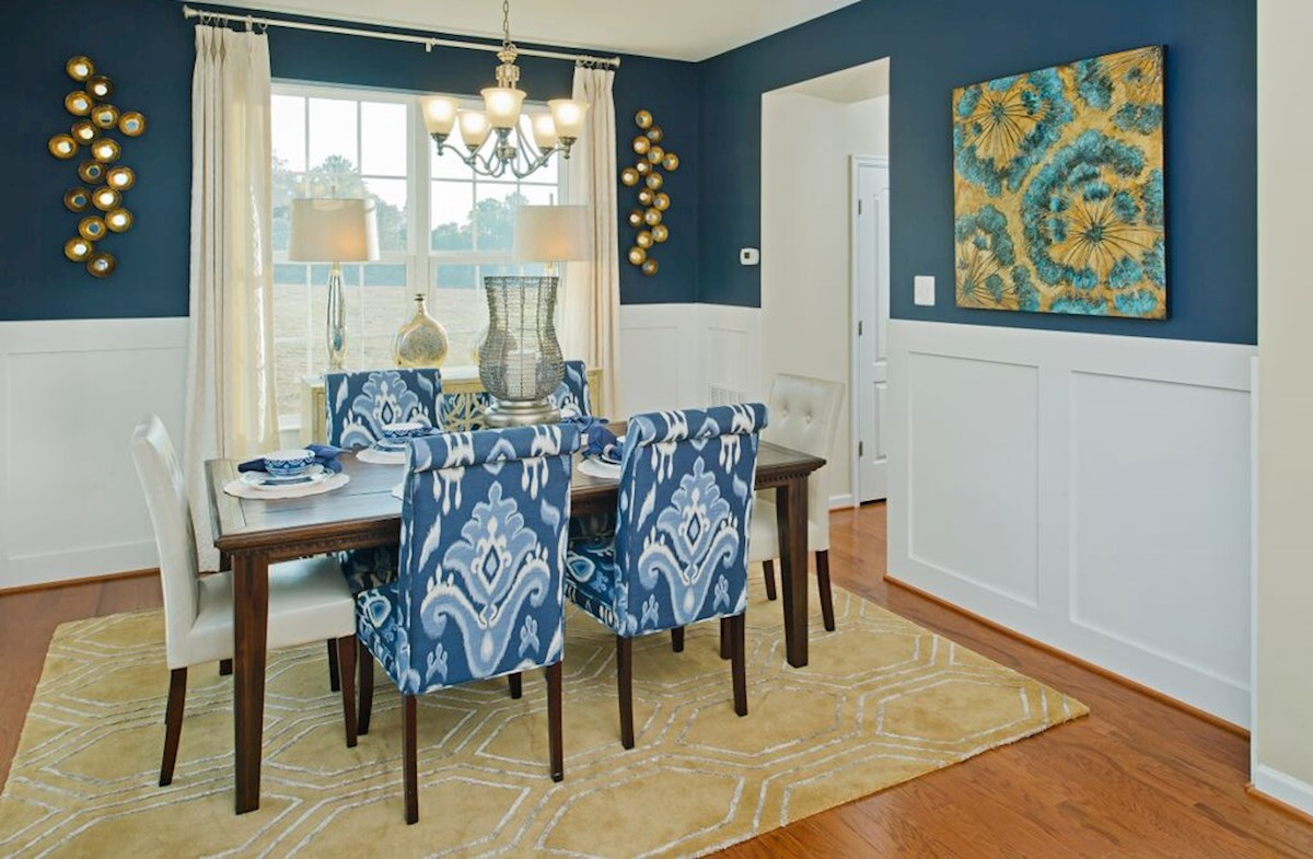 The Preserve at Windlass Run - Single Family Homes Harrison private dining room