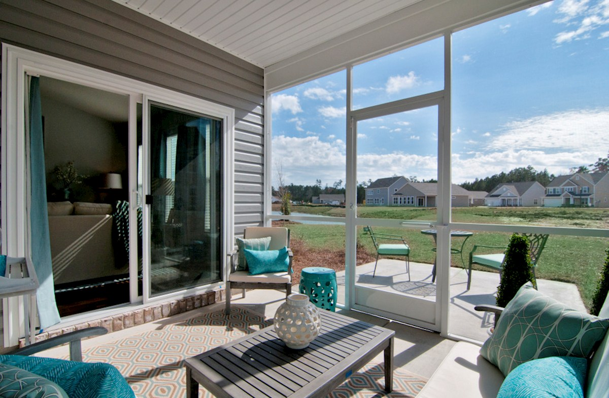 Surfside Plantation Camden Screened porch