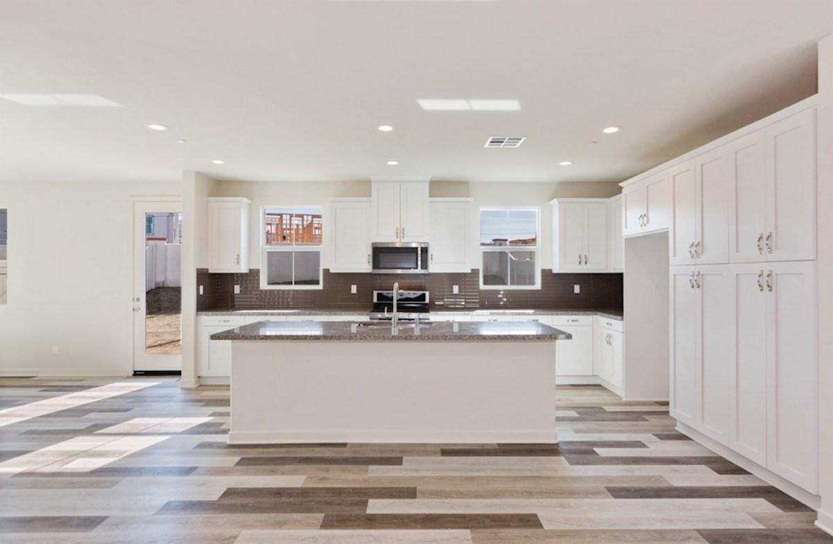 Peony quick move-in granite kitchen countertops
