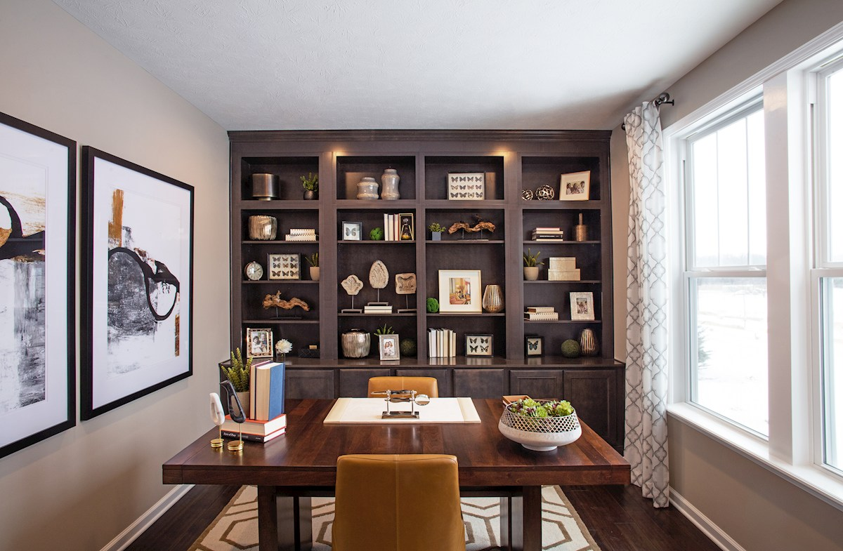 Whitley offers a private home office