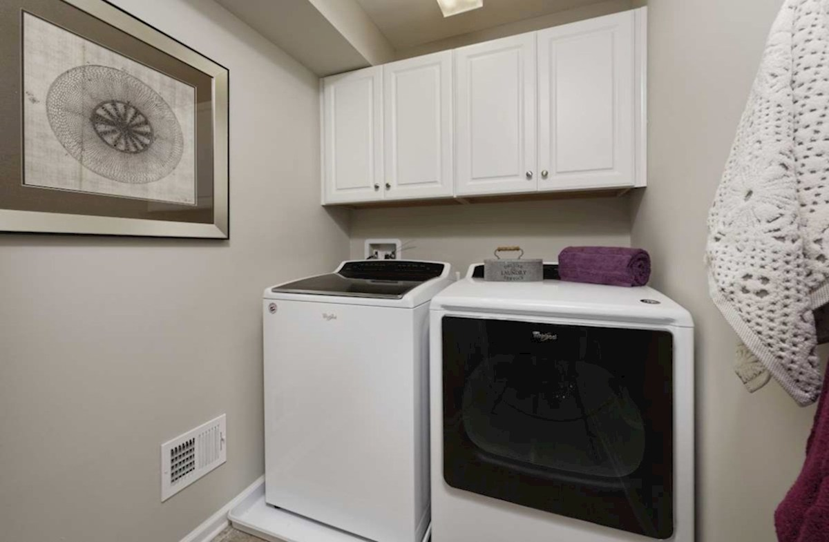 The Preserve at Windlass Run Townhomes  Vienna Vienna Laundry Room