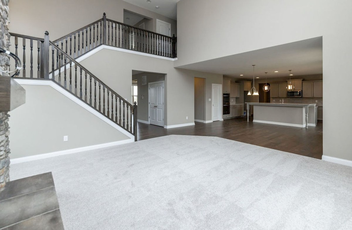 Oakhill quick move-in Picturesque two-story great room