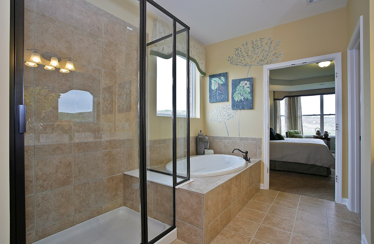 Whittmore Greenwich spa-inspired master bath