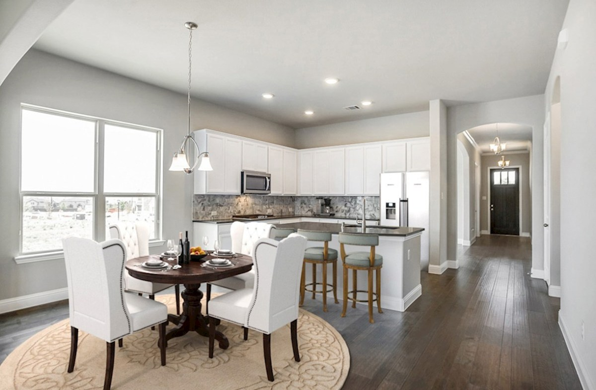Glen View Ainsley Ainsley kitchen opens directly to breakfast area
