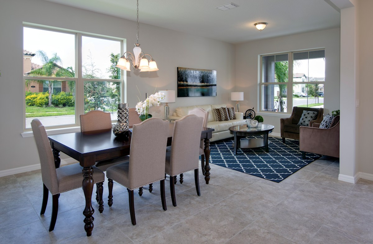 Lakeshore of Wekiva Sequoia II combined living and dining