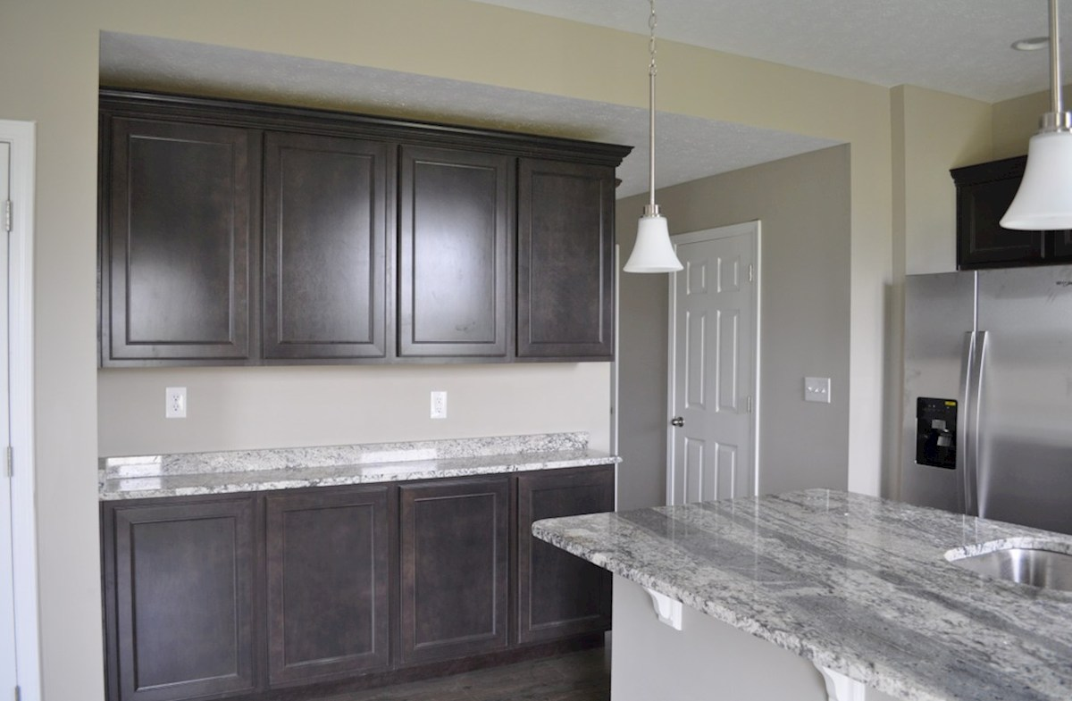 Juniper quick move-in Butler's pantry for extra kitchen storage