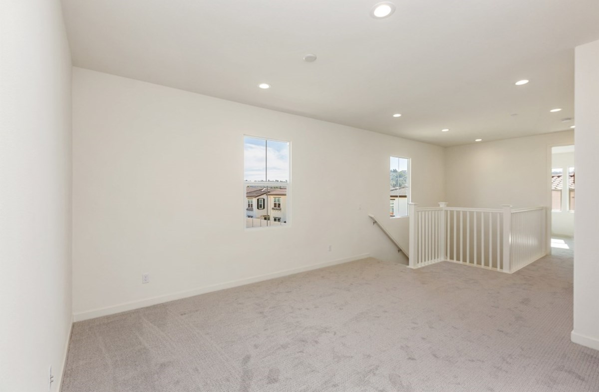 Suncup quick move-in The spacious loft is designed to be a versatile space for play or entertainment