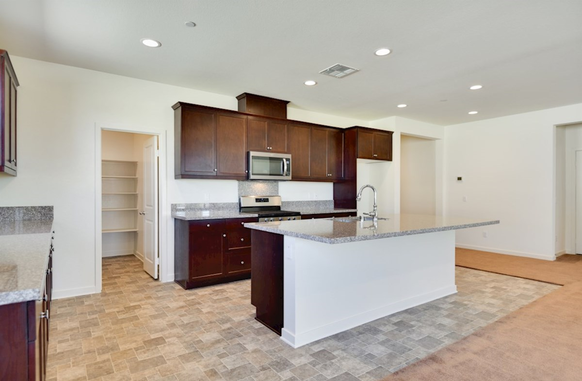 Agave quick move-in Entertain guests while preparing gourmet meals in this open-concept kitchen and great room