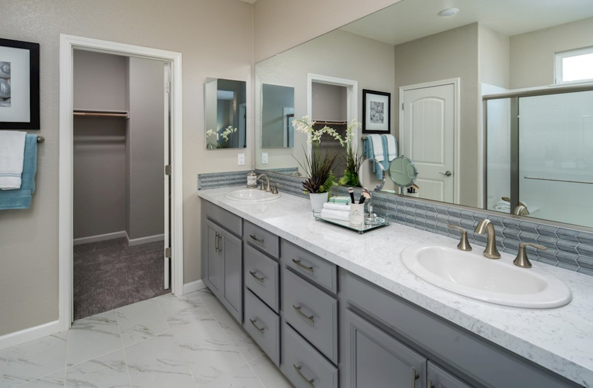 Natomas Field Residence 3 master bathroom