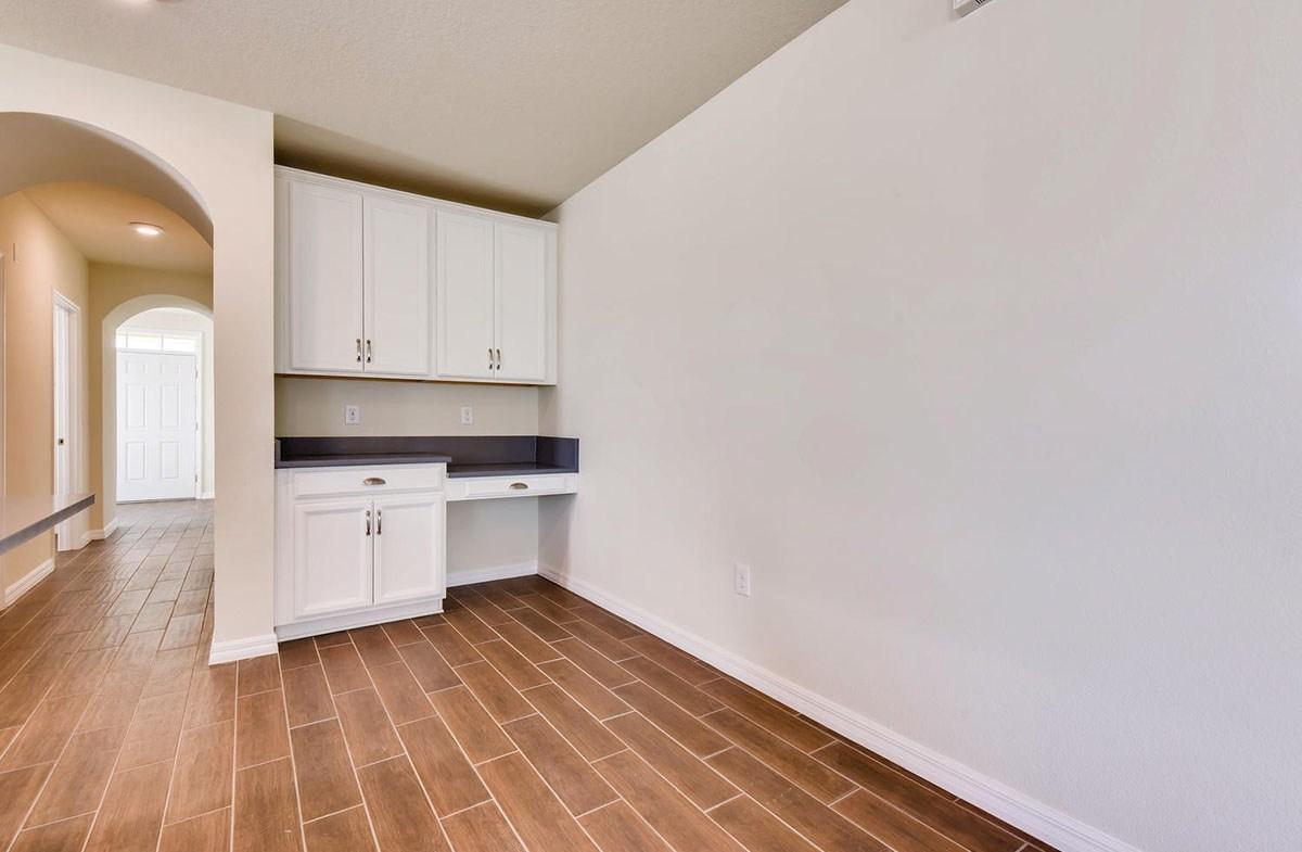 Redington quick move-in Convenient desk area off the kitchen