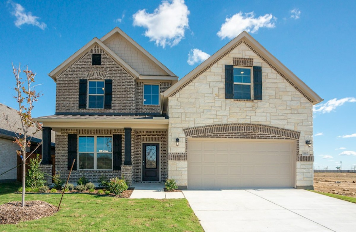 Brookhaven Elevation French Country O quick move-in
