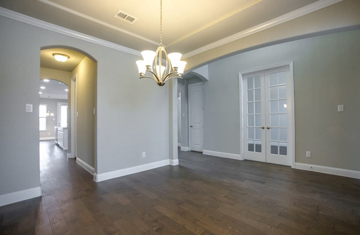 Madison quick move-in wood flooring in formal dining rooms