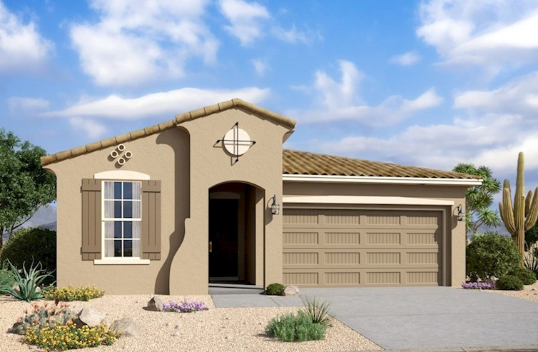Chaparral Elevation Spanish Colonial M