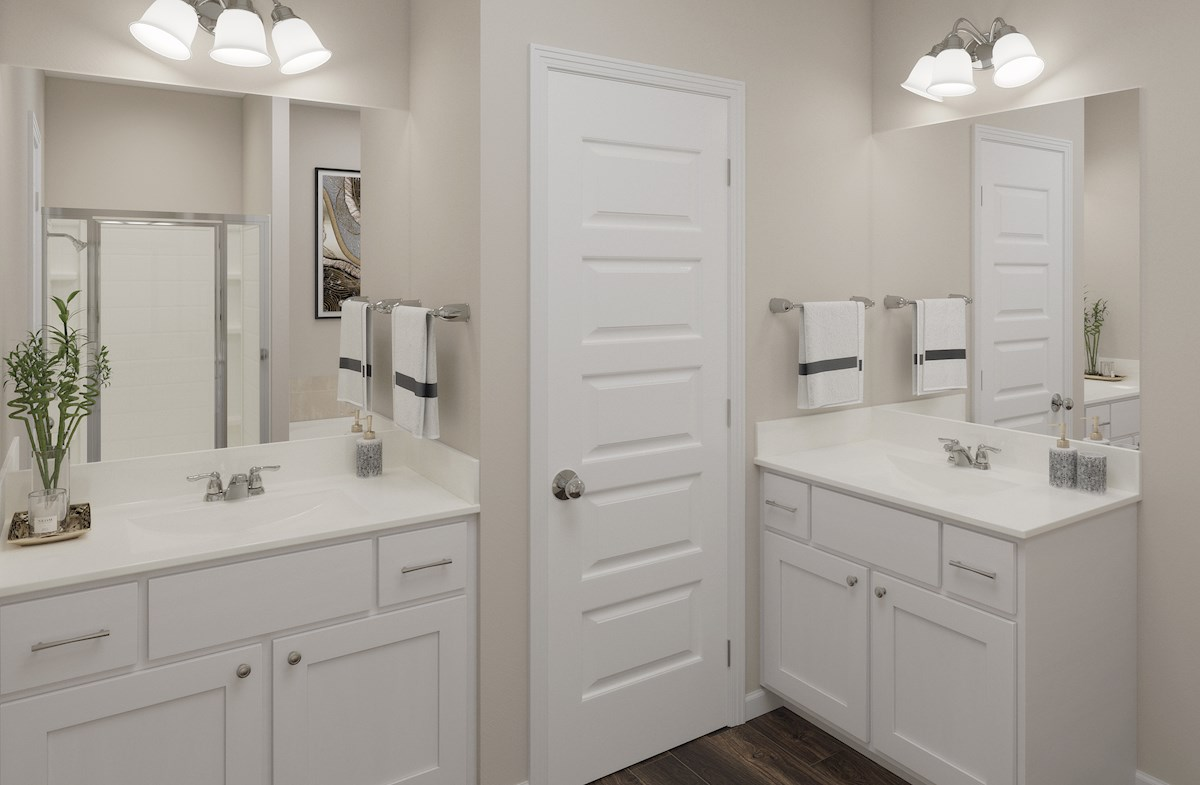 Waverly and Mantouk master bathroom
