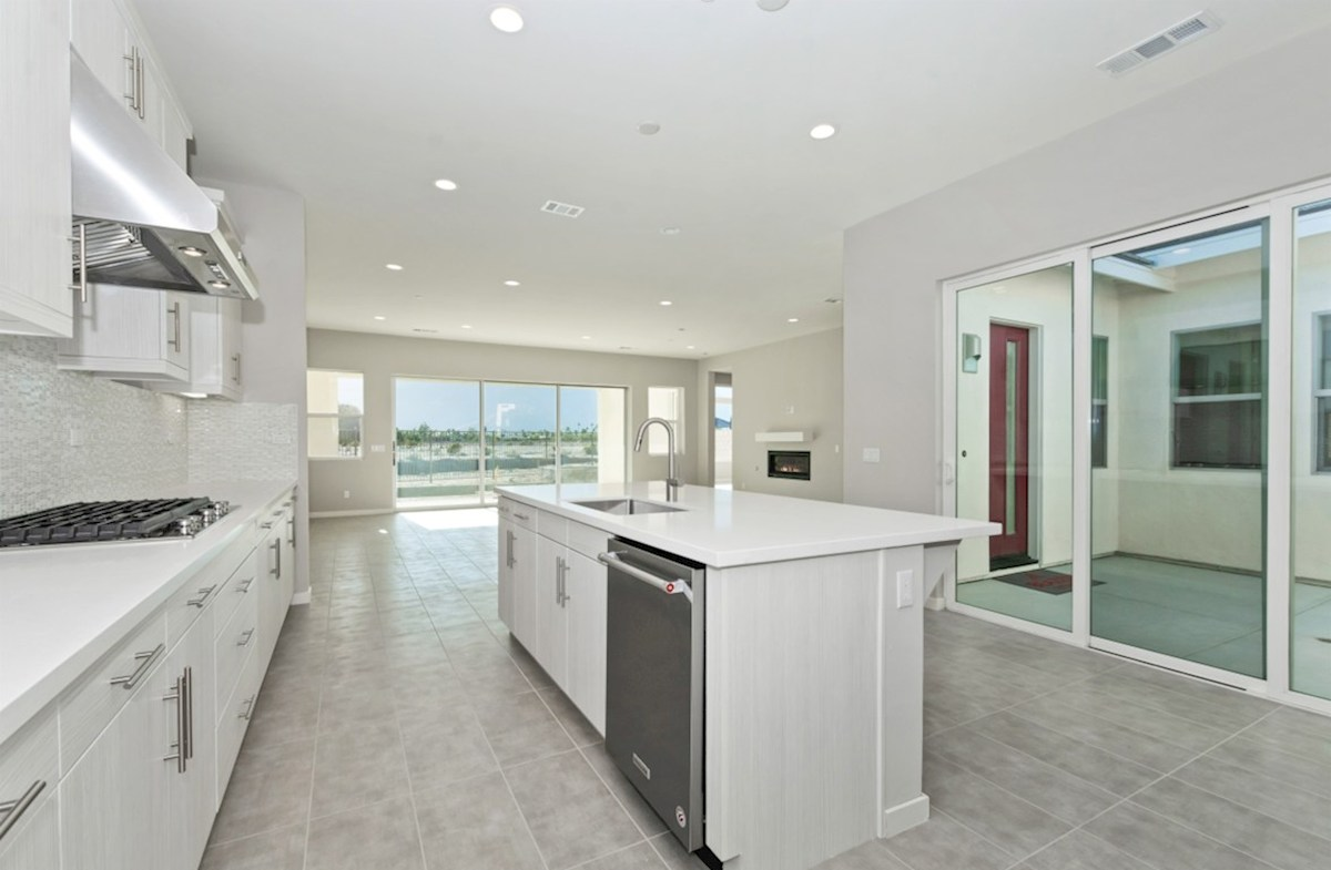 Residence 3 quick move-in Entertain guests while preparing gourmet meals in this open-concept kitchen and great room