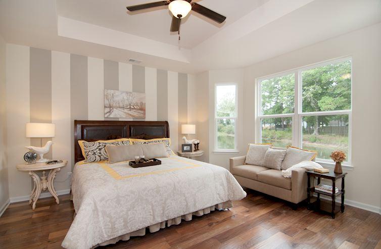 Bella Vita Gardens Jasmine Master bedroom with tray ceiling