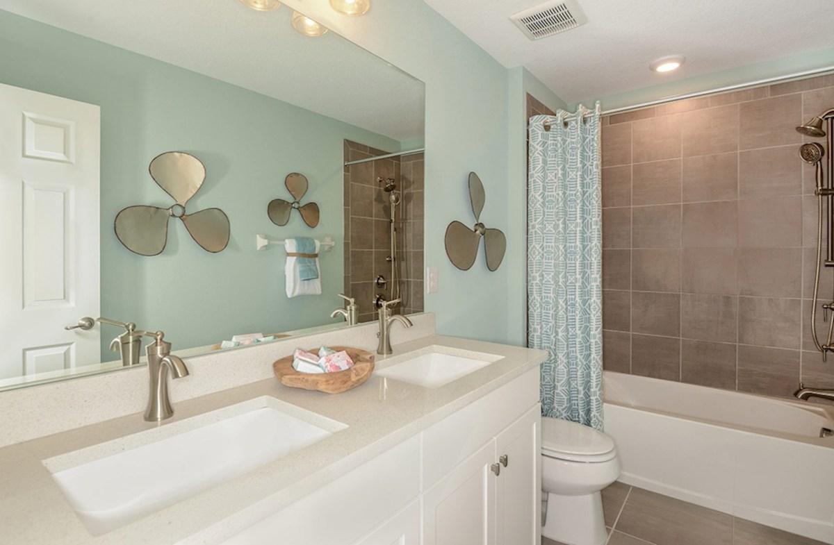 Reserve at Sawgrass Hampton light filled secondary bathroom