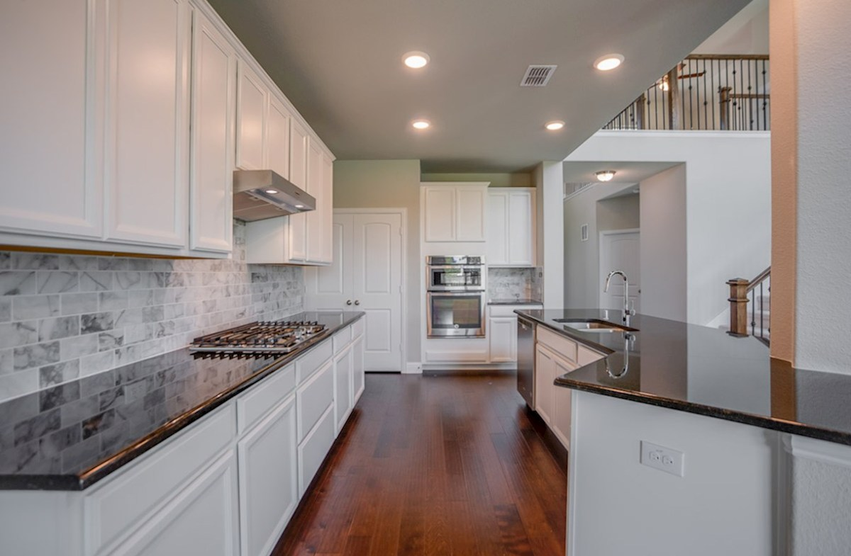 Brookhaven quick move-in kitchen features granite countertops