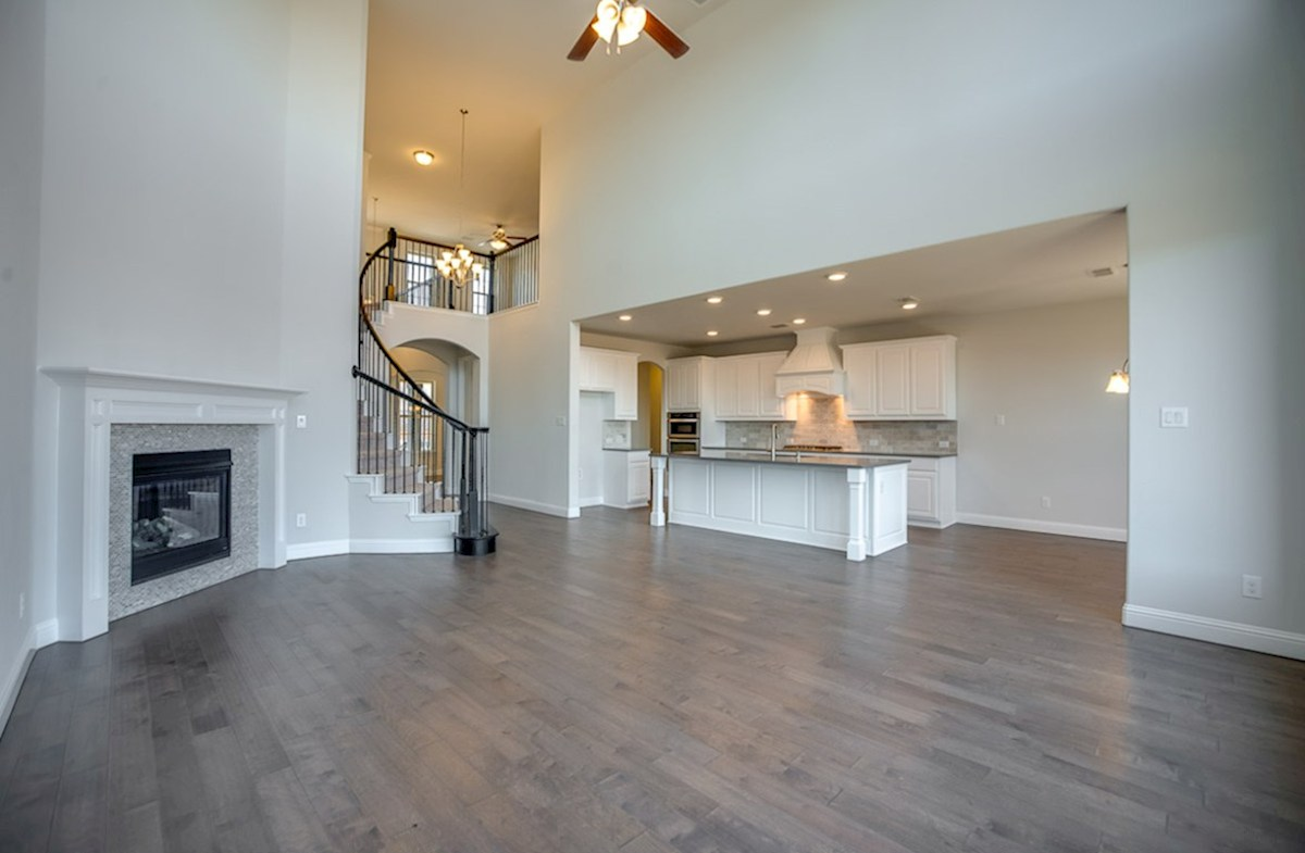 Madison quick move-in two-story ceiling in great room