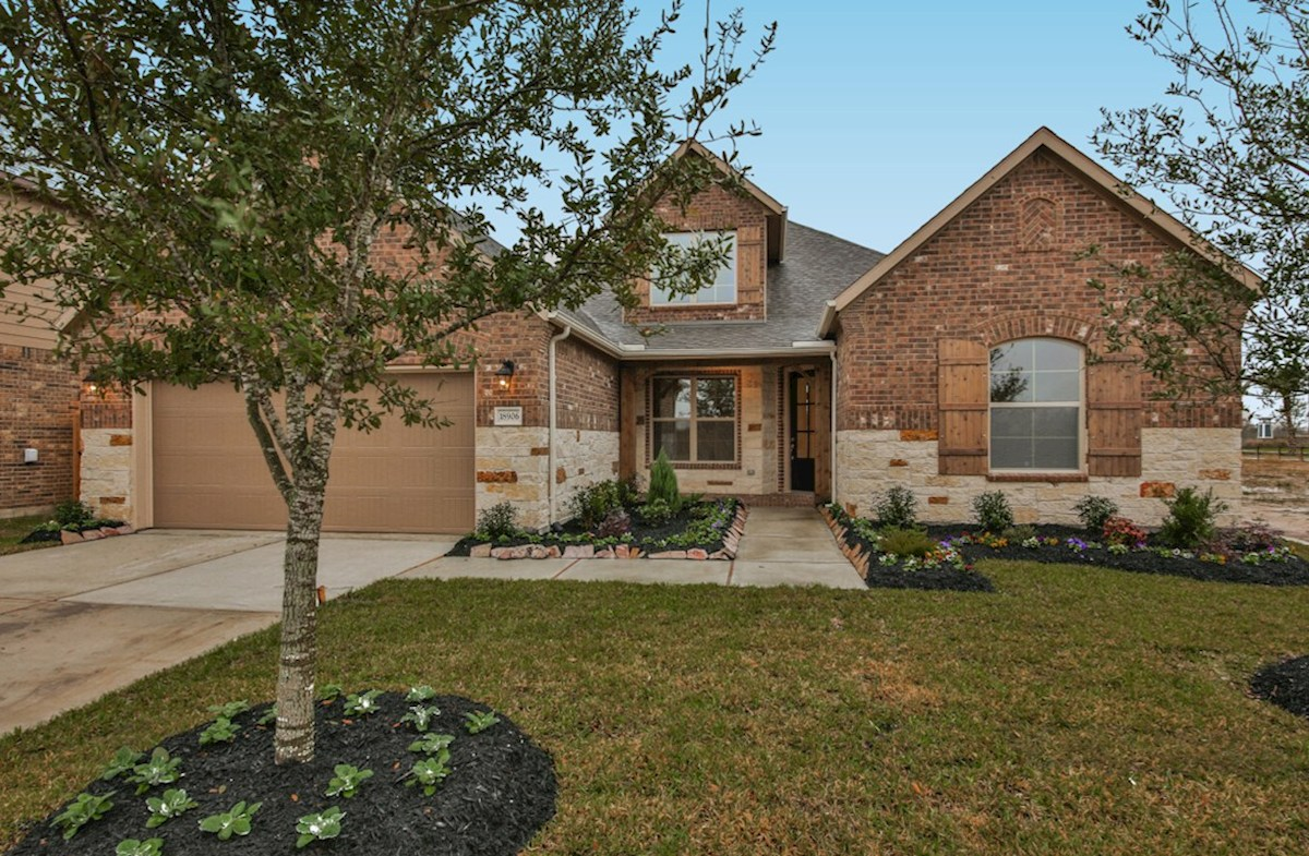 Caldwell Elevation French Country quick move-in