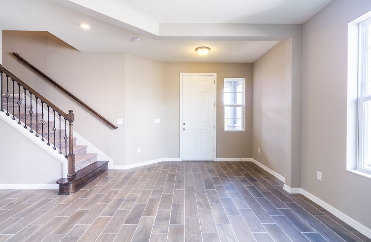 Captiva quick move-in Invite guests into a welcoming foyer