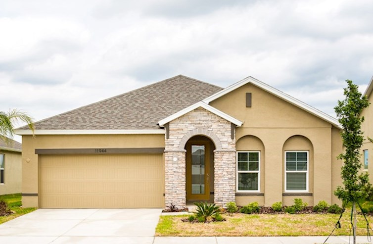 St Augustine II Elevation Spanish Colonial M quick move-in