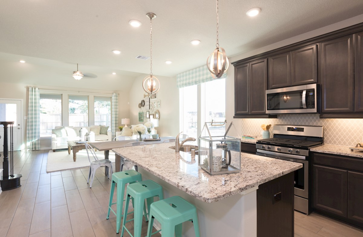 Emory Kitchen offers large granite island