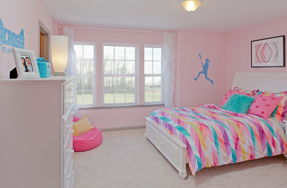 Enclave at River Hill Pembrooke Secondary bedroom with room to grow