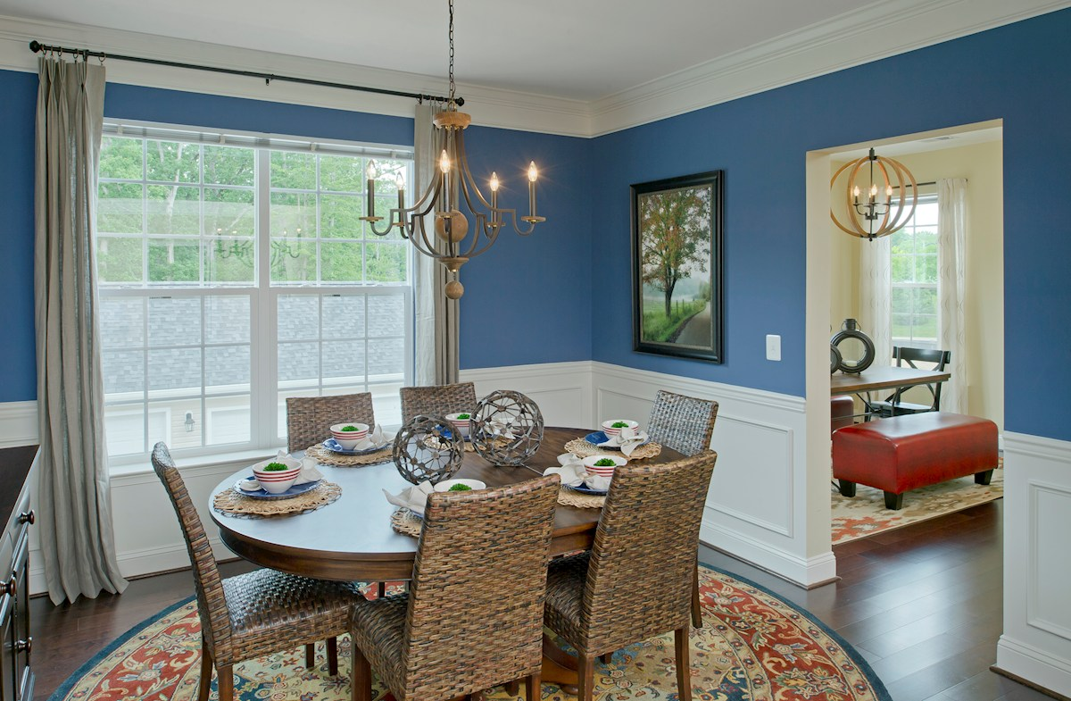 Gatherings® at Quarry Place Dogwood bright dining room