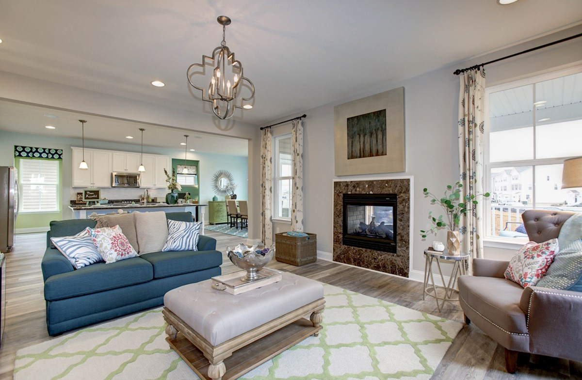 Summerfield Oxford cozy family room