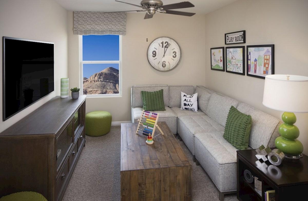 Hyde Park Mesquite flexible living space in the Mesquite Loft