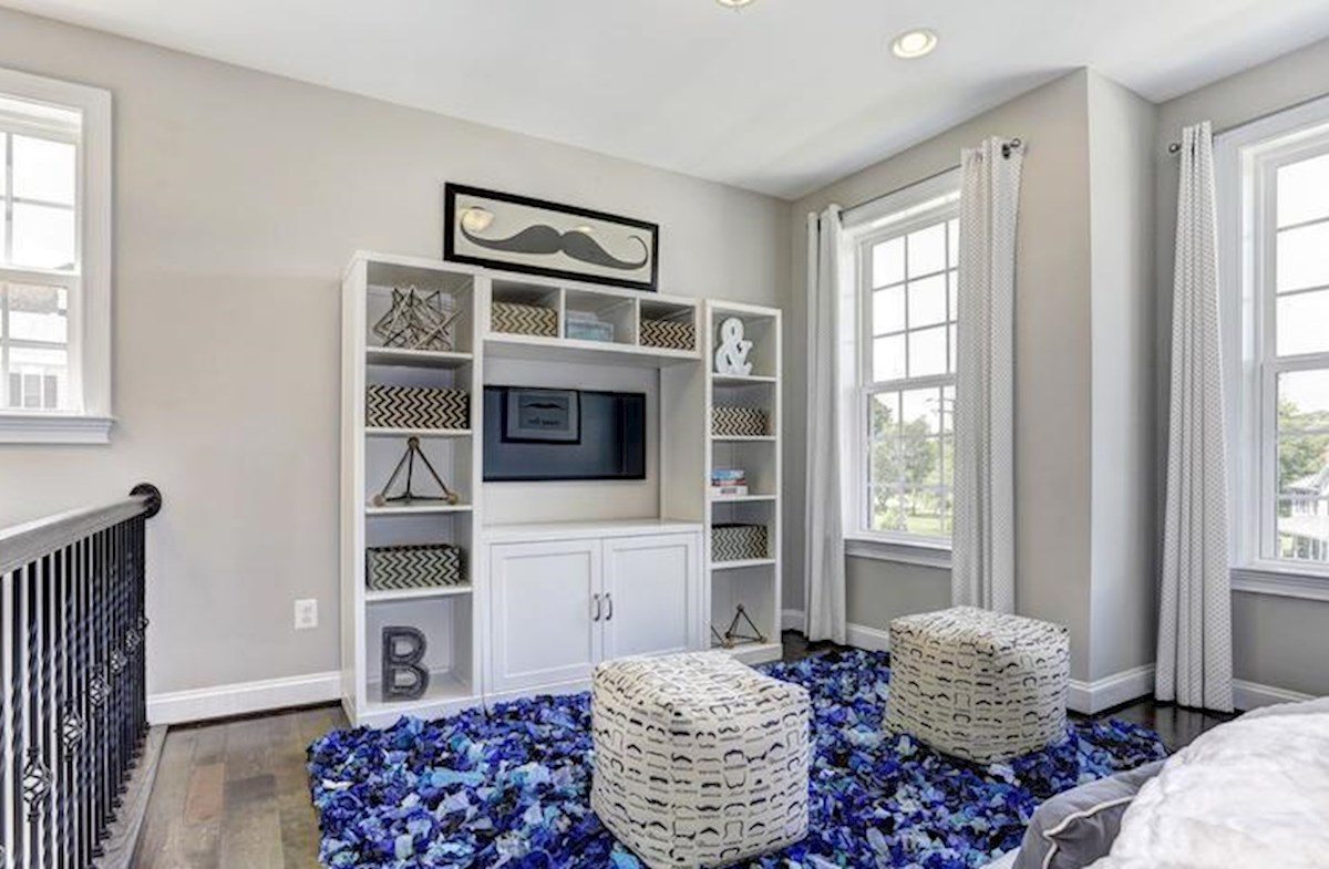 Wincopia Farms Brookview Ideal play room in the loft area