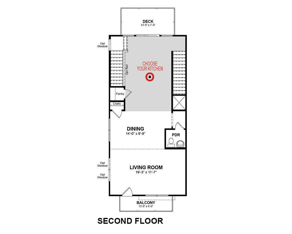 Main floor plan for Main Floor