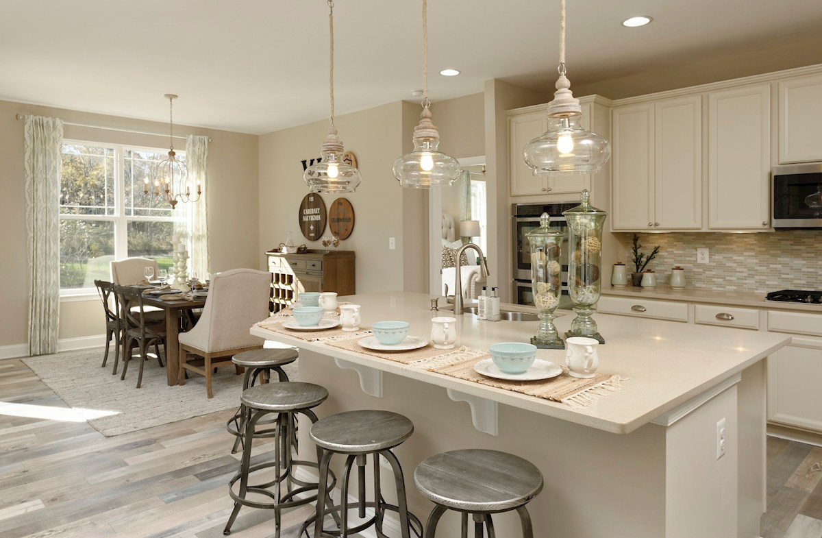 The Estuary Dirickson Open-concept kitchen featuring granite countertops
