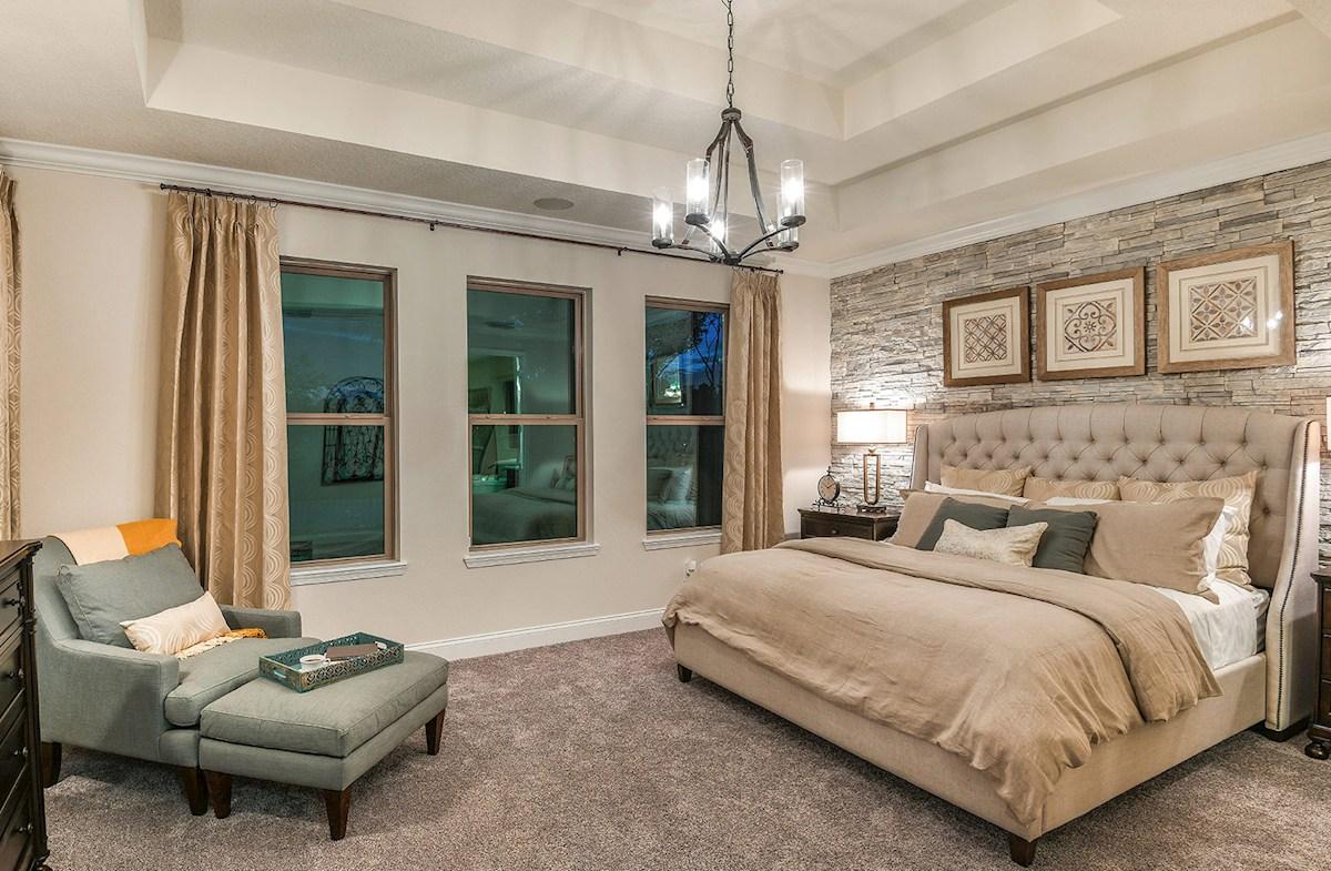 blissful master bedroom