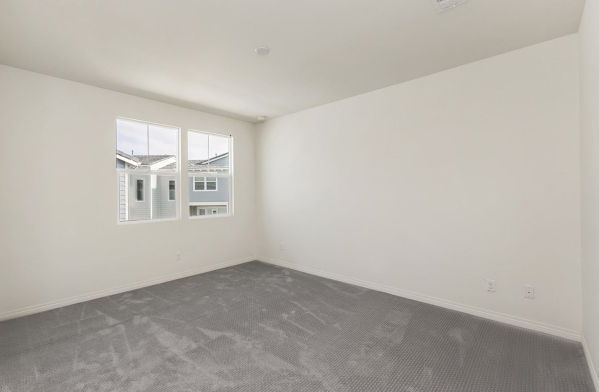 Pipit quick move-in Master bedroom separated from secondary bedrooms to create privacy and reduce noise