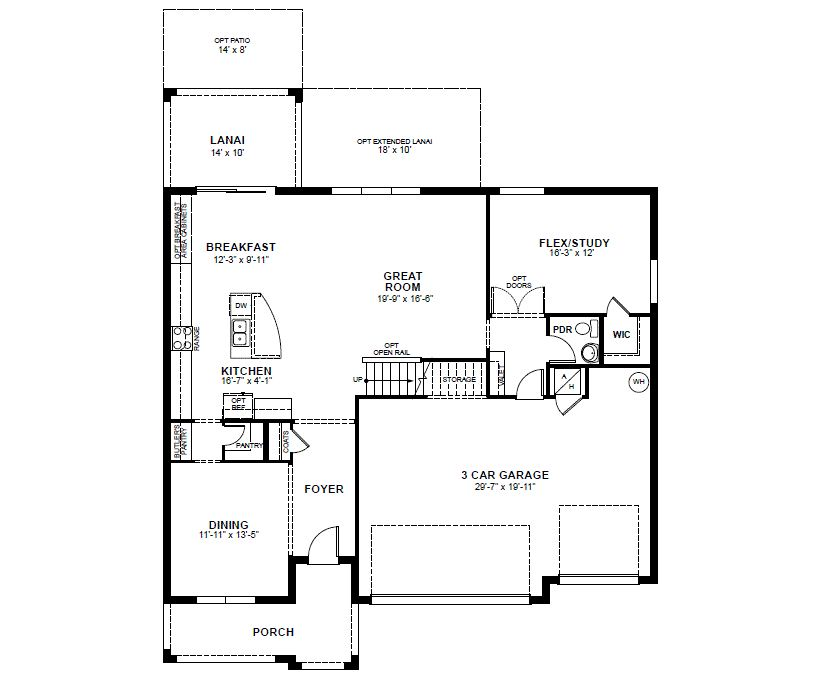 Sequoia Home Plan in The Reserve at Pradera, Riverview, FL | Beazer ...