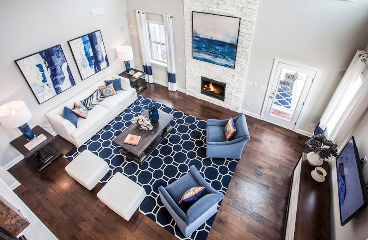 Peak 502 Dogwood stunning great room