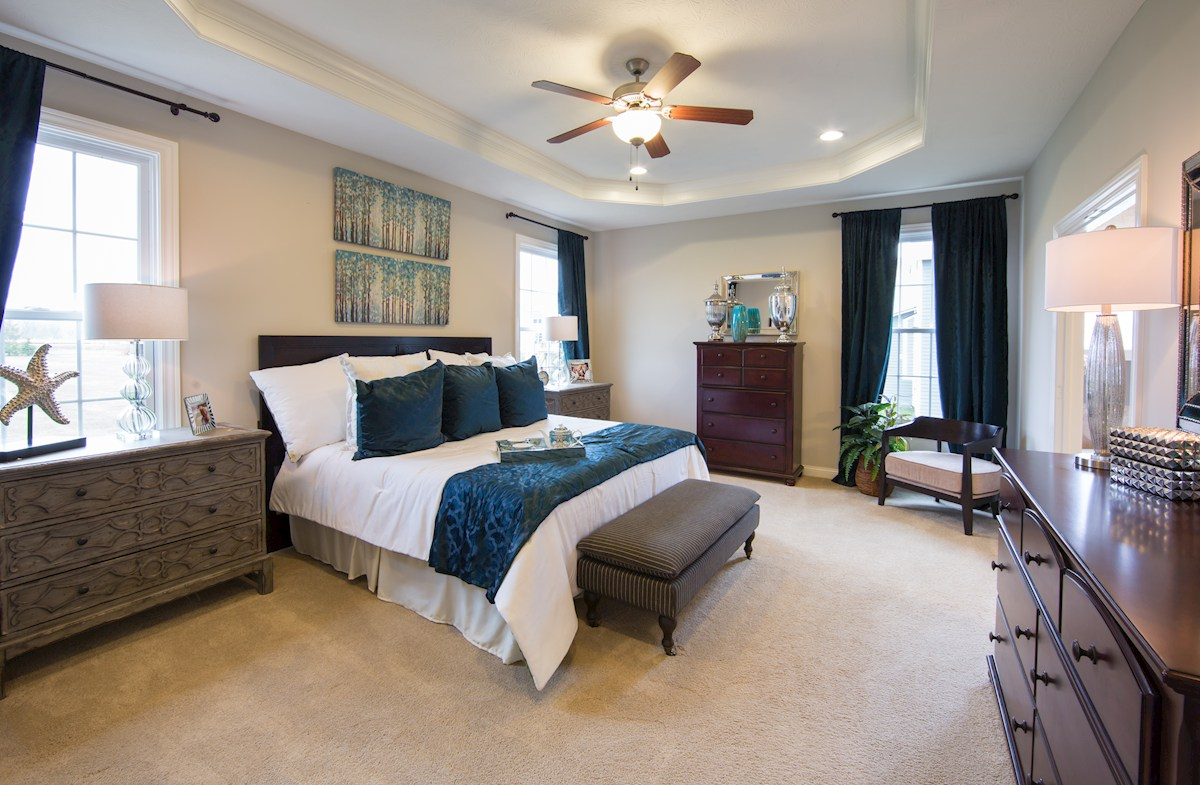 Hampshire Meridian Collection  Capitol Owner's Suite provides comfort and serenity