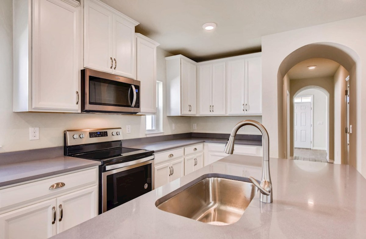 Redington quick move-in Kitchen with large center island