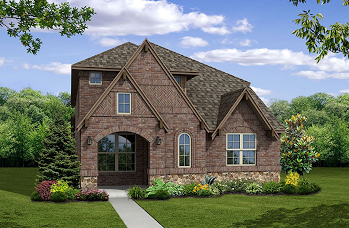 Brazos Home Plan In Valencia On The Lake Little Elm Tx
