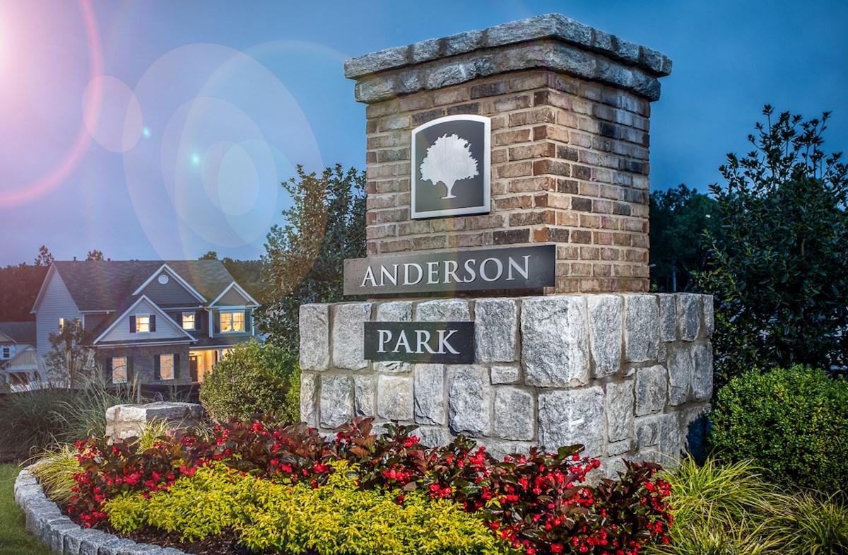 Anderson Park Entrance