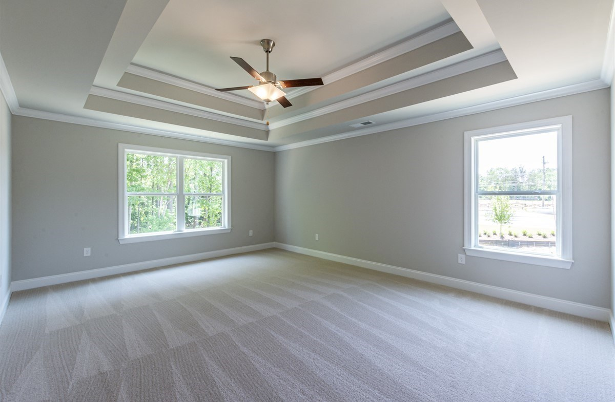Laurelwood quick move-in Master Bedroom with tray ceilings