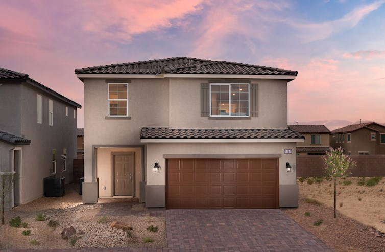 Sedona model with Spanish Colonial exterior