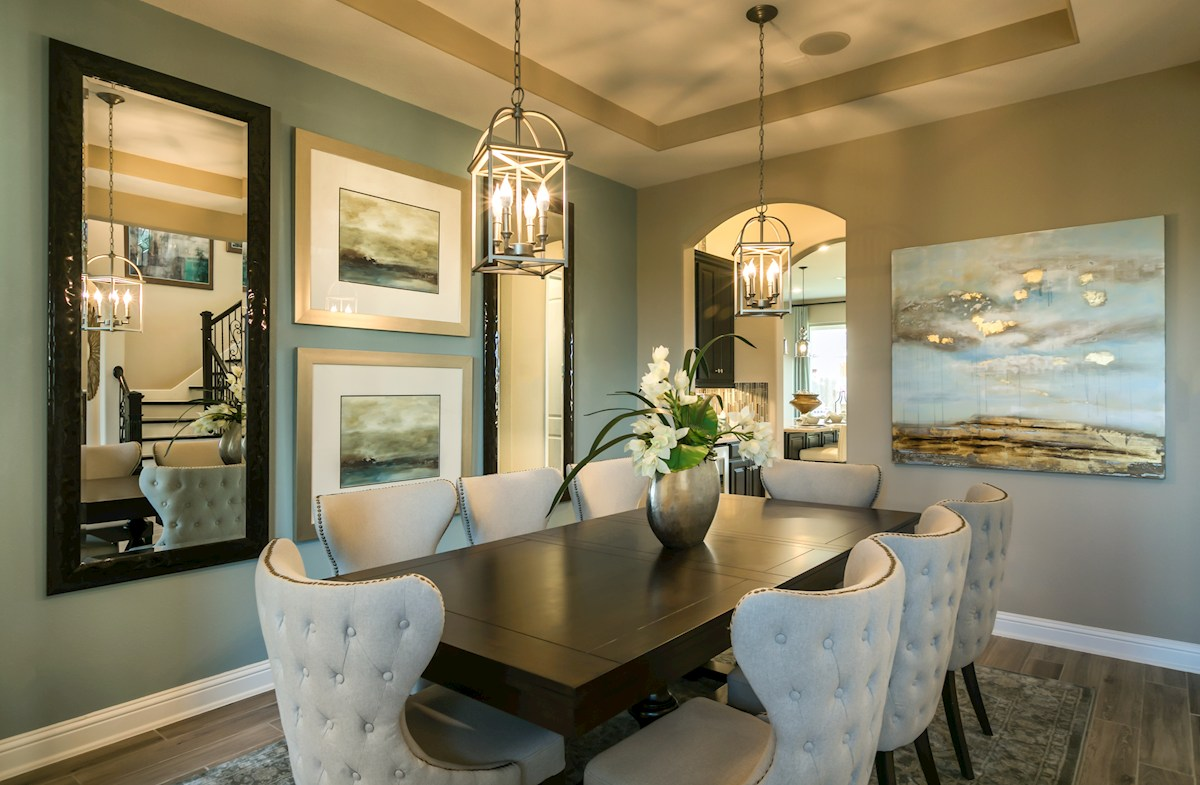 Young Ranch Hartsfield open formal dining room